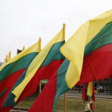 Klaipėda Kovo 11-ąją mėgins pasiekti vėliavų rekordą