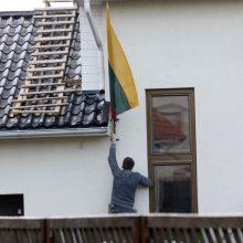 Uostamiestyje niekino Lietuvos vėliavą, bet kaltų nėra