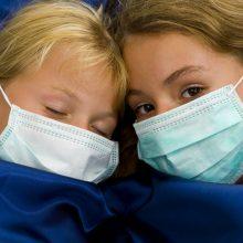 Įsisiautėjęs gripas iš pajūrio nesitraukia