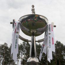 LFF taurės burtai bus traukiami iš naujo
