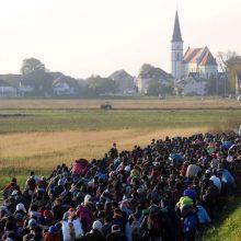 Realija: dar ne taip seniai tokie migruojančių pabėgėlių būriai Vokietijos provincijose kėlė siaubą vietos gyventojams.