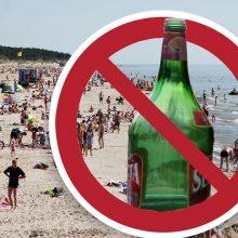 Jau kitąmet šalies paplūdimiuose neliks net šalto alaus