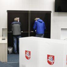 Seimas nuleido kartelę rinkimams