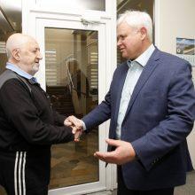 Futbolo trenerio K. Sarsanijos tėvo reveransas