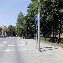 Mieste – dar daugiau šviesoforų