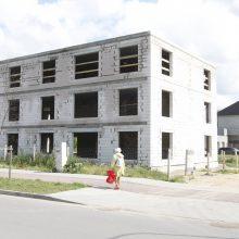 Strigo naujo viešbučio statybos?