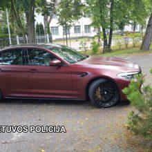 Už informaciją apie pavogtą BMW – solidus atlygis
