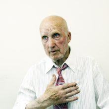 Išgyvenimai: V.Antonovas iki šiol prisimena, kaip skendo jo laivas ir kaip jis išgelbėjo juodaodį kūdikį.