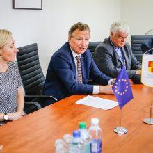 Klaipėdos universitete – optimistinės nuotaikos: studentų skaičius augo