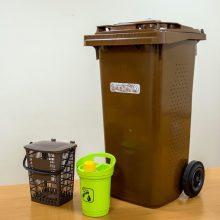 Pavasarį Klaipėdos krašto gyventojams bus išdalyti konteineriai atliekoms