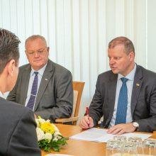 S. Skvernelis: Lietuva deramai pasirengs pasaulio salės futbolo čempionatui