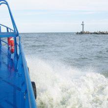 Teisme konstatuotas inspektorių priekabiavimas jūroje