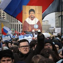 Maskvoje įvyko mitingas prieš interneto ribojimą