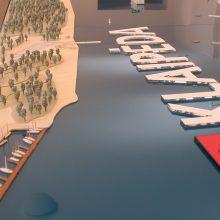 Planas: Klaipėdos planuose buvo ir tokia Ledų rago įlankos marina.