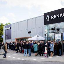 Klaipėdoje atidarytas moderniausias Baltijos šalyse automobilių centras