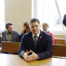 Teismas sumažino V. Titovui skirtą baudą už partizanų vado paniekinimą