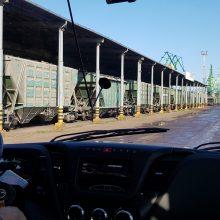Ginčai uoste dėl geležinkelio avarijos