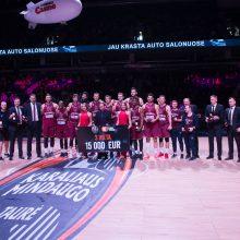 """Karaliaus Mindaugo taurės trečiąją vietą užėmė """"Lietkabelio"""" krepšininkai"""