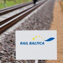 """NŽT baigė sklypų paėmimą """"Rail Balticai"""" tiesti"""