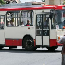Vilniaus viešojo transporto profsąjunga nubalsavo už streiką