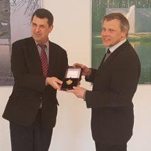 Europos parko įkūrėjui – Kultūros ministerijos apdovanojimas