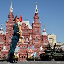Maskvoje – fejerverkai Vilniaus išvadavimo nuo nacių metinių proga