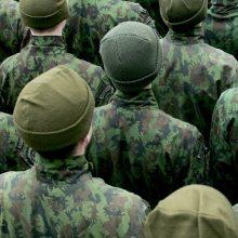 Tarnybą Lietuvos kariuomenėje pradėjo daugiau kaip pusė tūkstančio šauktinių