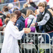 Šventasis Tėvas jaunimui: nepamirškite savo šaknų