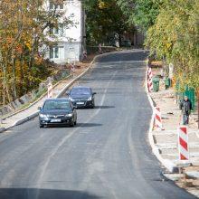 Žemaičių gatvėje užvirs asfaltavimo darbai