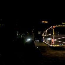 Į gatves išriedėjo kalėdinis autobusas! <span style=color:red;>(nuotraukų galerija)</span>
