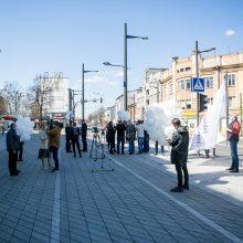 Architektai susirinko palaikyti teisiamą A. Karalių: nusikaltėliai pučia burbulus