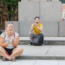 """""""Kiemų šventė"""" Kaune: nuo rankų darbo muilo iki Kaligulos nuodų ir ore sklandančios poezijos"""
