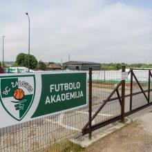 Kaune subliuško futbolo maniežas