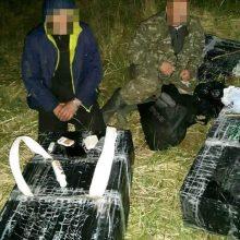 Su kontrabandiniais rūkalais įkliuvo lietuvis ir baltarusis