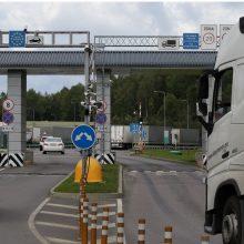Sulaikytas ukrainietis turėjo suklastotą automobilio dokumentą