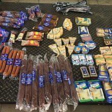 Rusų muitininkai sulaikė maisto produktų kontrabandą iš Lietuvos