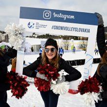 Lietuviai fantastiškai pradėjo Europos sniego tinklinio turą Slovakijoje