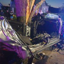 Nuo policijos bėgusio ukrainiečio sukeltoje avarijoje žuvo du žmonės
