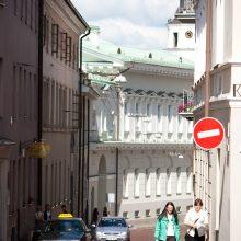 Sostinės gatvėse – laikini eismo ribojimai
