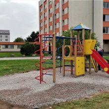 Mažiesiems Akademijos gyventojams – nauja žaidimų erdvė