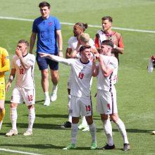 Europos futbolo čempionatas: anglai įveikė kroatus