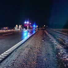 Tragiška avarija Kauno rajone: susidūrus trims automobiliams žuvo trys žmonės