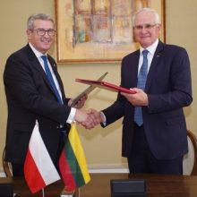 Lietuva ir Lenkija atnaujino susitarimą dėl mokslo