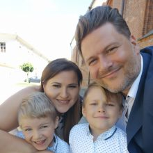M. Vitulskis: džiaugiuosi kiekviena su šeima praleista diena