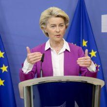Lenkijos premjeras ir EK vadovė surėmė ietis dėl ES vertybių