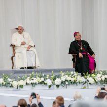Vatikano ekspertas: popiežius Lietuvoje pratęsė Jono Pauliaus II politiką