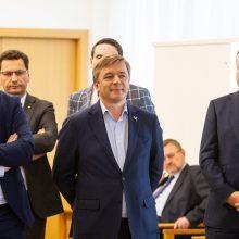 Keturios partijos pasirašė koalicijos sutartį