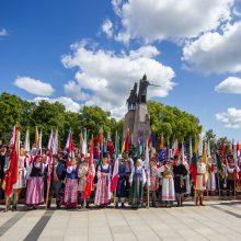 Įsigaliojo nauja Lietuvos etnografinių regionų vėliavų ir herbų naudojimo tvarka
