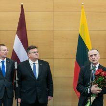 Vilniuje įteiktas Baltų apdovanojimas