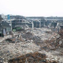 Ministerija dėl gaisro Alytuje patikrins šimtų žmonių sveikatą